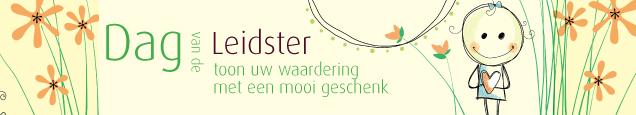 Bedwelming Dag van de leidster | Thema's | HiepHiepKado.nl &CK29
