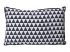 Cushion Triangles dark grey & white rectangle