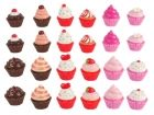 Lip gloss Cupcakes assorted designs