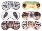 Eye Mask Animal Eyes polyester assorted