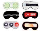 Eyemask Me Time 6 assorted designs satin